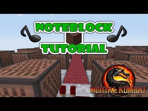 """Mortal Kombat Doorbell - Note Block """"Tutorial"""" (Minecraft Xbox/Ps3)"""