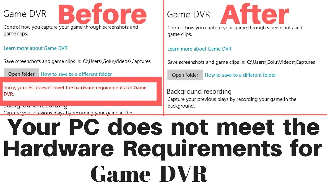 Learn These Sorry You Have No Video Capture Hardware Windows