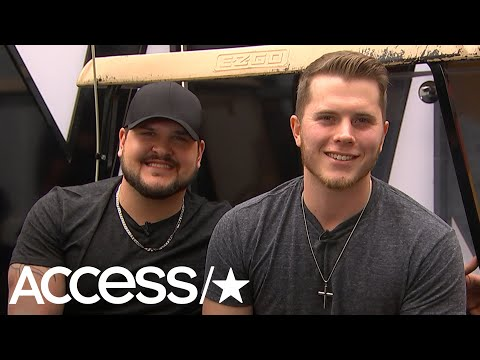 Gyth Rigdon & Dexter Roberts Admit The Same 'Voice' Artist Is Their Biggest Competition | Access
