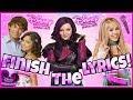 Try To Finish The Lyrics Challenge! Disney Channel Movie Challenge