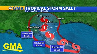 Millions brace for impact as Tropical Storm Sally gains strength l GMA