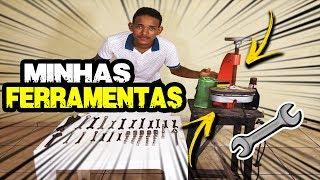 MOSTRANDO MINHAS FERRAMENTAS!