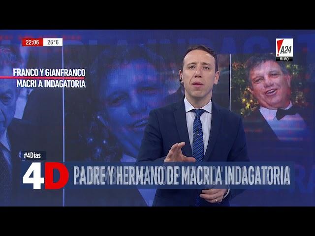 4D | CUATRO DÍAS - PADRE Y HERMANO A INDAGATORIA