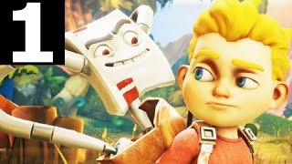 Rad Rodgers World One Gameplay Part 1 - Level 1 & 2 - Walkthrough (No Commentary Playthrough)