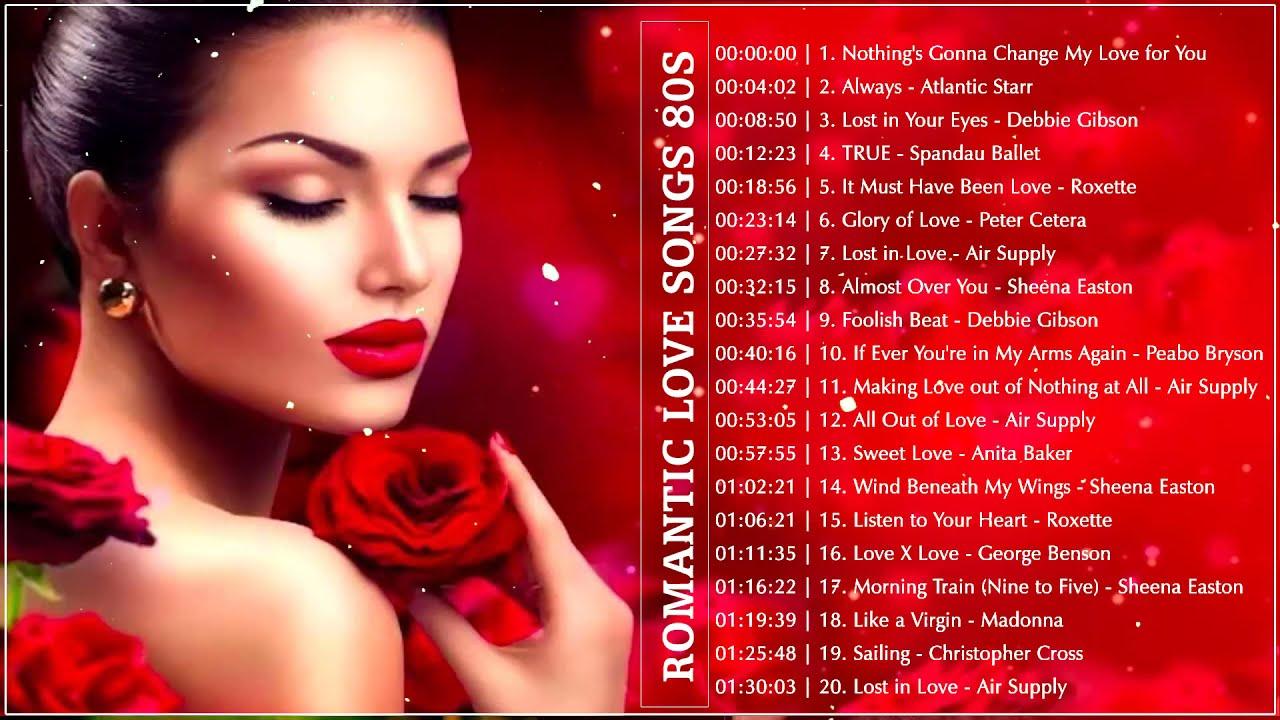 Top 10 pop love songs