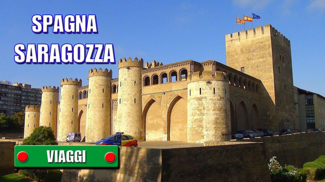 Saragozza Spagna Cartina Geografica.Spagna Saragozza In Giro Per La Citta Di Sergio Colombini Youtube