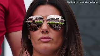 Rebekah Vardy reveals she didn't let her daughter go on London trip