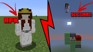 ZOANDO PLAYERS AFK NO MINECRAFT !