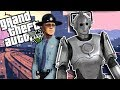 GTA 5 RP - ROBOT FROM THE FUTURE COMES BACK TO SAVE HUMANITY - GTA V Funny Roleplay