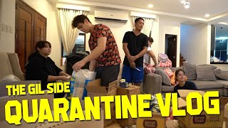 QUARANTINE VLOG l The Gil Side