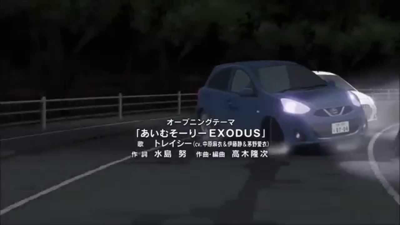 shirobako イニシャルd youtube