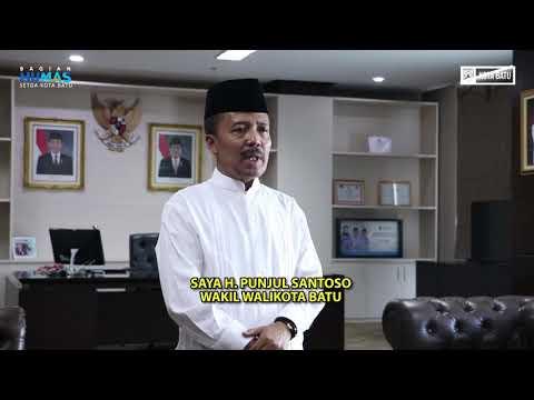 Wakil Walikota Batu Ucapkan Selamat Idul Fitri 1440 H