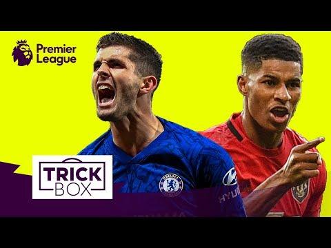 Pulisic Dummy & Rashford Elastico | Crazy Premier League Skills | Trickbox MW12