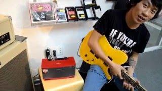 Hướng dẫn sử dụng Cube lite guitar Amply cho guitar Điện.