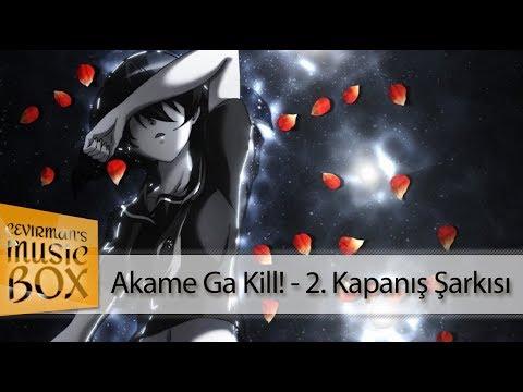 Akame Ga Kill! - ED 2『Sora Amamiya - Tsuki Akari』(Cover) Türkçe Altyazılı HD