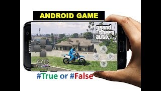 GTA 5 For Android Device |Grand Theft Auto V Android Gameplay #Secret