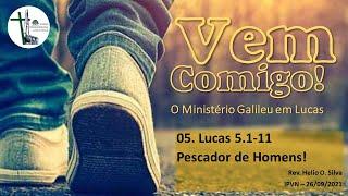 Pescador de Homens - Lucas 5:1-11