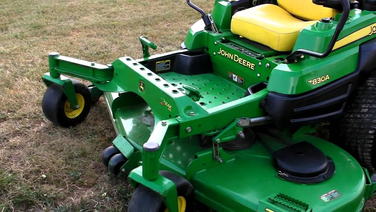 John Deere Z830a Wiring Diagram Schematic Diagrams Gt235 72 Ztrak Zero Turn Hydro Lawn Mower Youtube