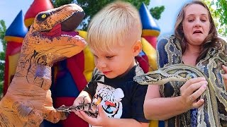 REPTILE BIRTHDAY PARTY SPECIAL!...