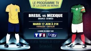 Brésil - Mexique, Belgique - Algérie... Le programme TV du jour !