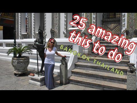 Travel Bangkok Thailand | 25 Amazing Things To Do | 1080HD