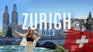 DAY TRIP TO ZURICH | Switzerland Travel Vlog