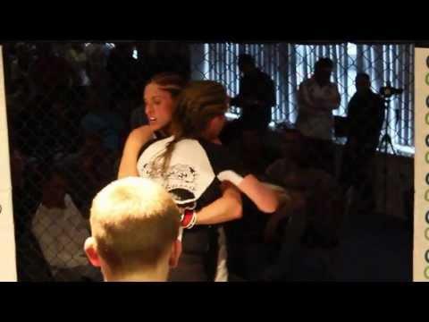 BCMMA3 11/05/13 Liana Tunmer Vs. Kerry Masarati Semi Pro Ladies Featherweight Contest