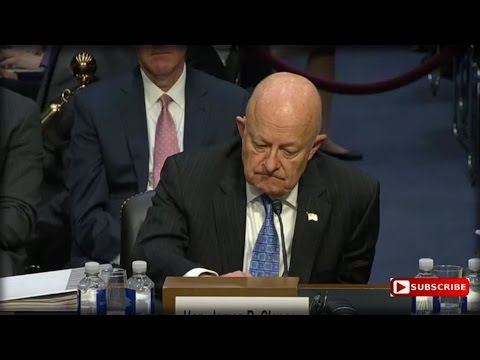 TRUMP WAS RIGHT: CIA DIRECTOR CLAPPER JUST LEAKED SOMETHING HUGE ABOUT GOVERNMENT SPYING