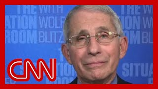 Dr. Anthony Fauci: I'm not sure what Trump means