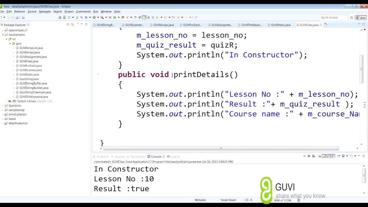 Java getters and setters tutorial images any tutorial examples java pro tutorial session 2 getter and setter in english youtube java pro tutorial session 2 baditri Image collections