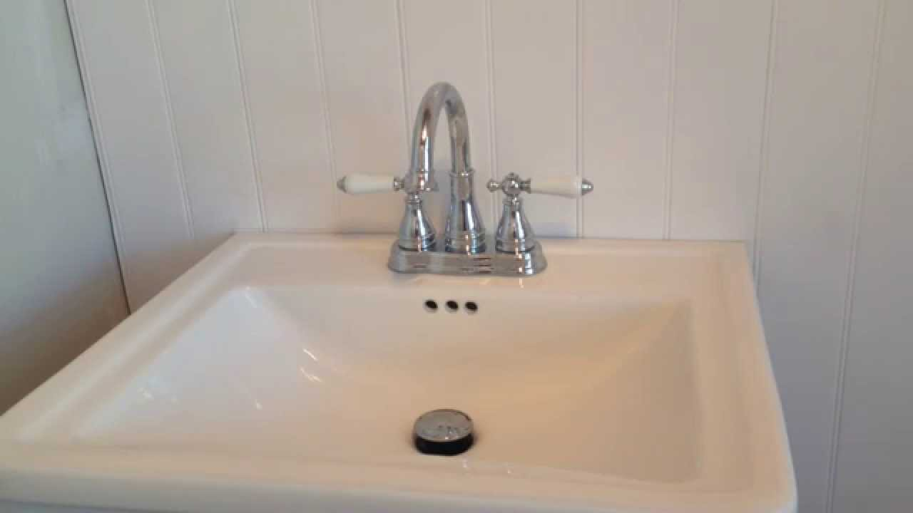 Pfister Kitchen Faucet Reviews Pfister Sonterra Polished Bathroom Sink Faucet Video Customer