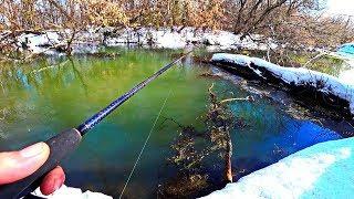 ВОТ ЭТО УЛЁТНАЯ РЫБАЛКА 2019 #69 Рыбаки этого не забудут Рыбалка видео приколы Весна Март Fishing