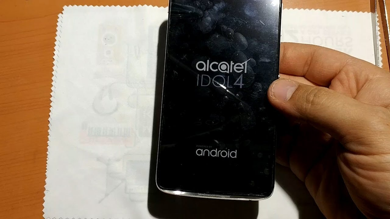 Alcatel Idol 4 - Screen and frame replacement