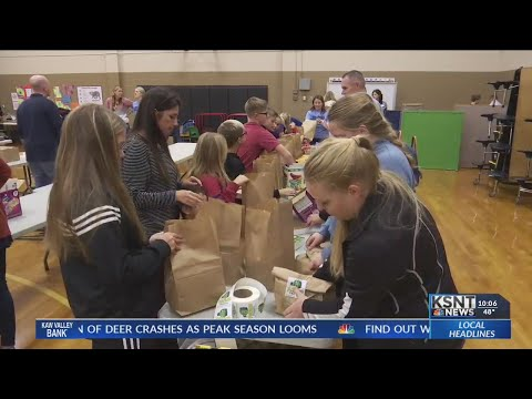 Topeka elementary schools begin new program to provide weekend meals to students