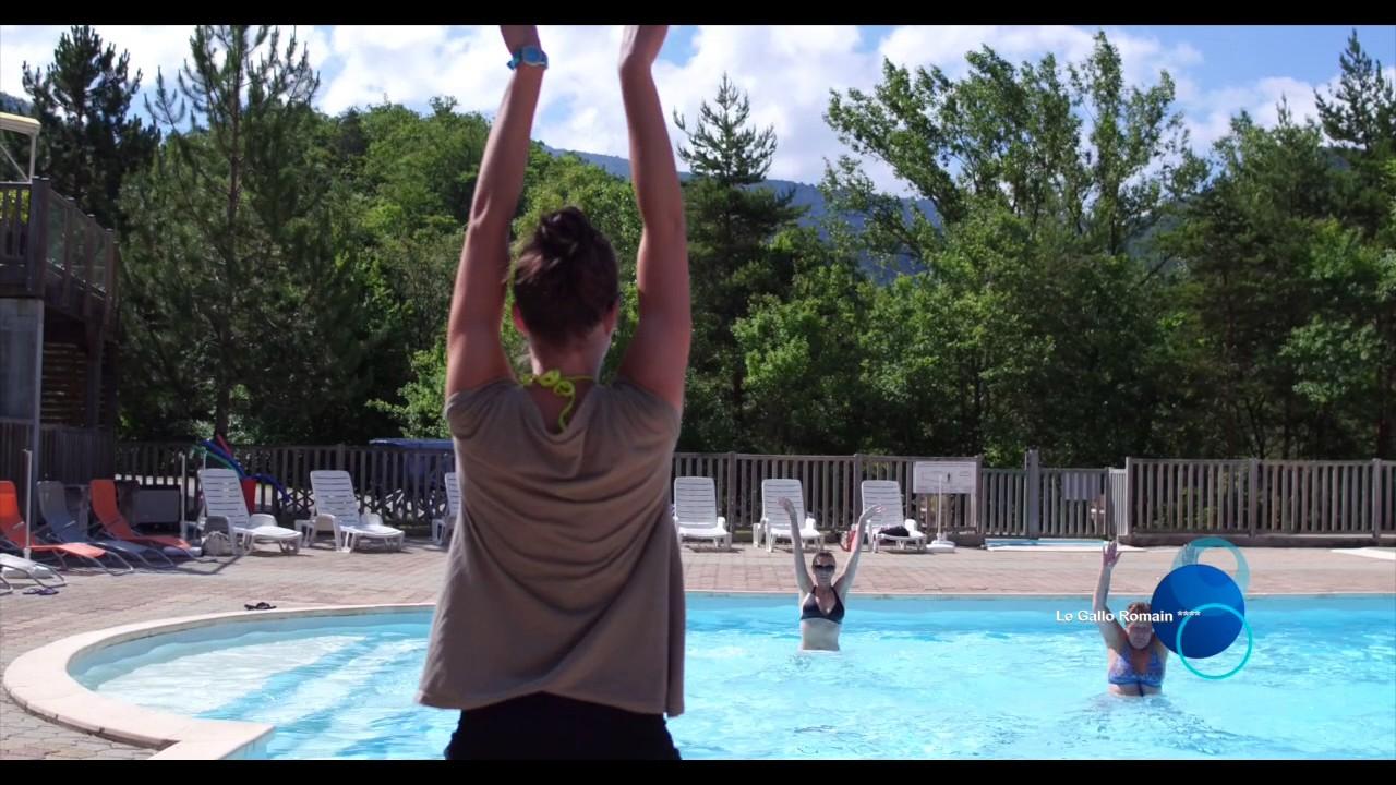 Camping le gallo romain 4 toiles avec piscine dans la - Hotels vaison la romaine avec piscine ...