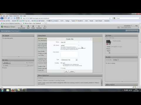 Alfresco Web Quick Start - Introduction and Installation