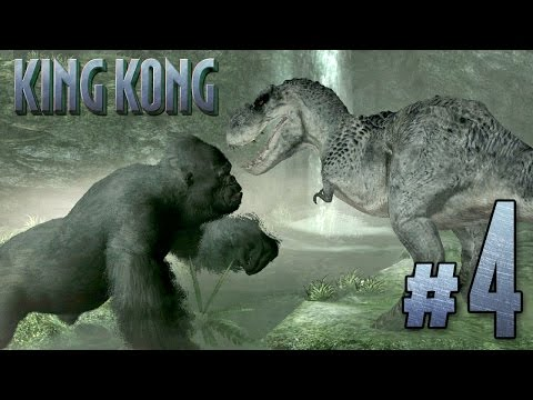 KING KONG VS V.REX!!! : Peter Jackson's King Kong | Ep4 (XBOX 360)