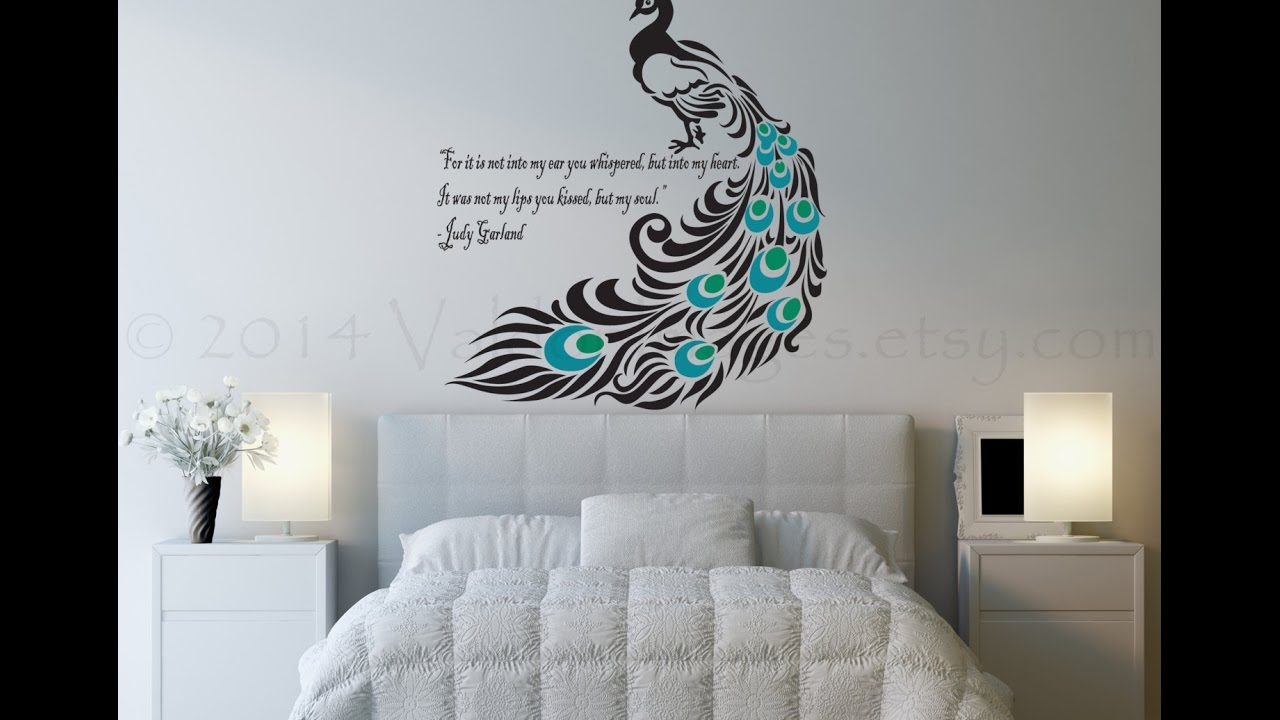 Merveilleux How To Make A Beautiful Wall Painting ....#3 Amazing Room Wall Painting