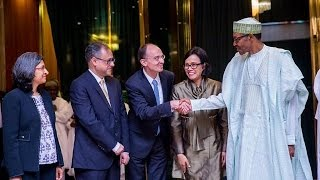 Buhari meets World Bank delegation to discuss economic crisis