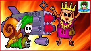 snail bob Улитка боб  Лесная история игра как мультик для детей от Фаника