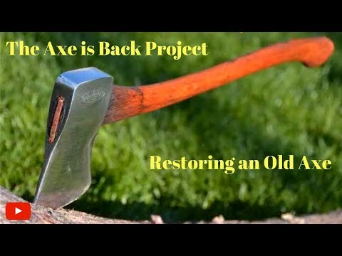 how to get rust off an axe