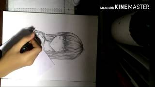 Aoki hagane no arpegio, iona speed drawing(part 2)