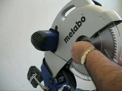 Metabo KS 305 PLUS Crosscut and Mitre Saw with Laser