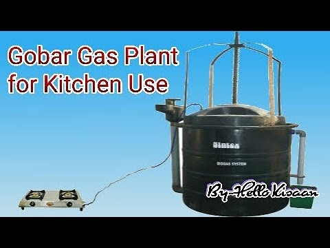 Household Biogas Plant || ???? ??????? ?????? || Gobargas Plant for Kitchen use