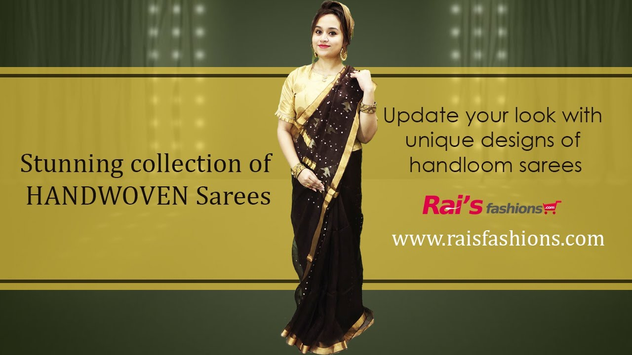 Stunning Collection Of Handwoven Sarees (03rd August) - 30JX