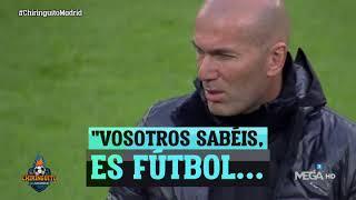 La CHARLA de Zidane a sus jugadores en Turín... ¡AL DESCUBIERTO!