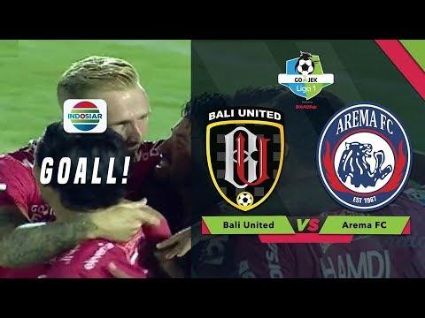 Goal Tunggal Stefano Lilipaly   Go-Jek Liga 1 Bersama BukaLapak: Bali United (1) - (0) Arema FC