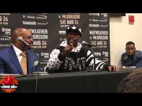 Thumbnail: Floyd Mayweather Reacts To McGregor's Racism, Boy, Black Women, Racism, & Monkeys. HoopJab Boxing