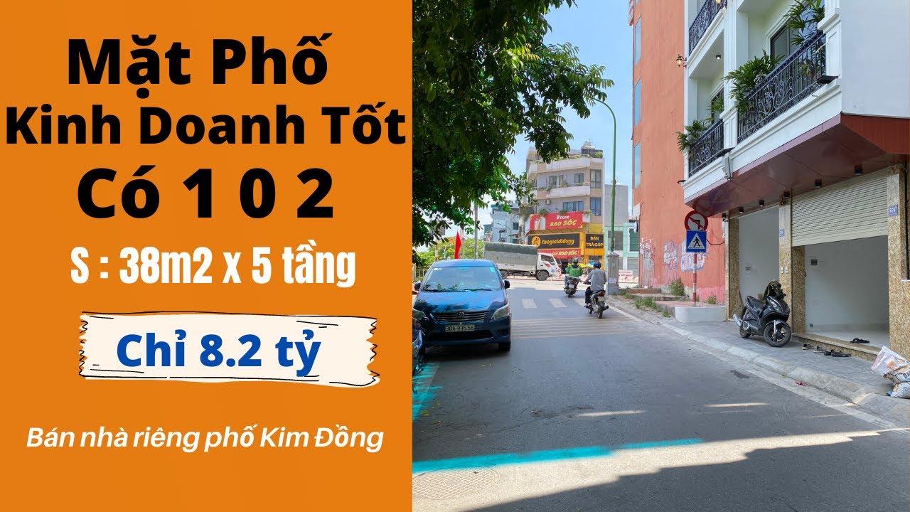image Bán Nhà Mặt Phố Kim Đồng Kinh Doanh Mọi Thứ Cực Hiếm | Bán Nhà Hà Nội 2021