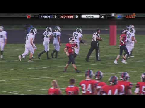 Frontier Regional Football vs Greenfield - September 14, 2018